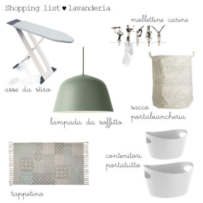 MY HOME RESTYLING: LAVANDERIA PARTE 2