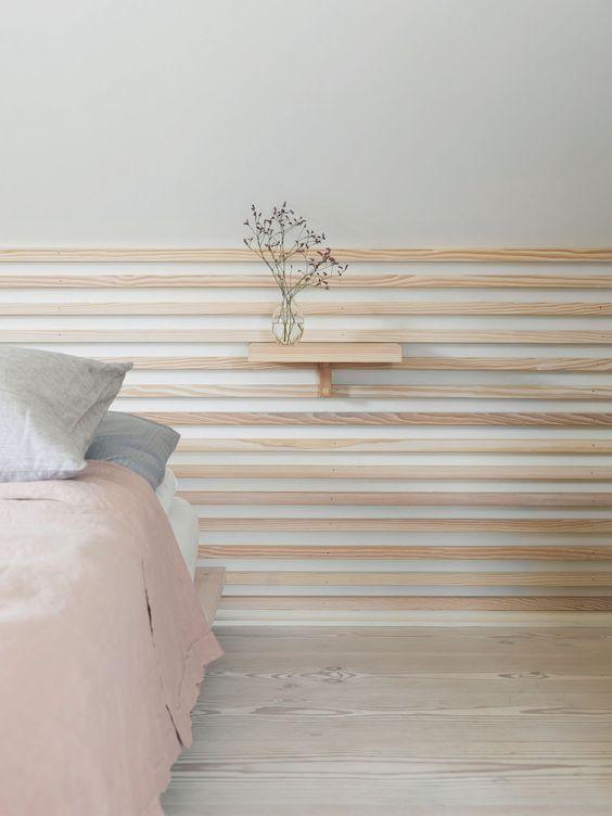 My home restyling la camera da letto studiomag interior design - Parete testata letto dipinta ...