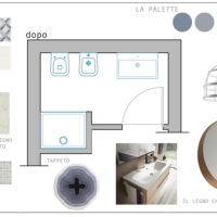 Prima e dopo: un bagno micro si trasforma