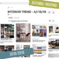 Home trend: la casa autunno/inverno 2018/2019