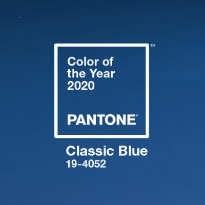 Classic blue: il colore pantone 2020