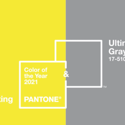Ultimate Gray e Illuminating: i colori Pantone 2021